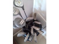 Set of Golf Clubs and Bag For sale