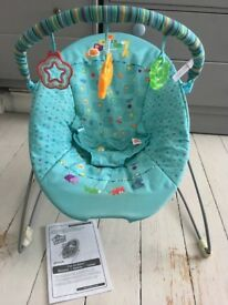 Bright Stars Fun On Safari Baby Bouncer Chair