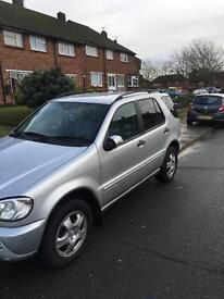 Mercedes ML 270 cdi needs tlc