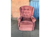 Reclining Tilt Recliner Chair Celebrity Woburn Mobility. (Cost New £1200)