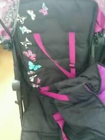 Silvercross Pop Butterflies pushchair