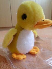 3 soft toy ducks