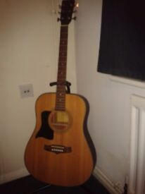 MUST SELL Left handed Tanglewood Acoustic TW28 SNQ satin finish mint condition