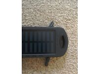 Solar powered phone charger & LED torch