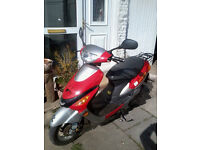 great little 50cc moped ideal for learner.