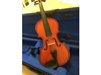 1/4 size violin - excellent condition