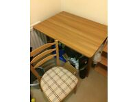 Space saver table & x2 chairs