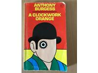 A clock work orange by Anthony Burgess