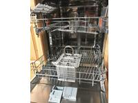 Hotpoint semi-integrated dishwasher - only 6 months old