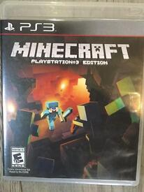 Minecraft for PS3