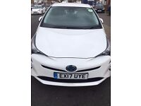 Brand NEW SHAPE Toyota Prius PCO car for hire/rent - £240p/w - Uber Ready 17 Plate