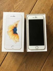 iPhone 6s 64gb -big memory . Gold. Unlocked