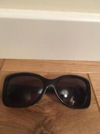 Beautiful and genuine black Polo Ralph Lauren sunglasses with soft case