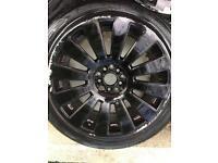 Vw t4 alloy wheels skoda multistud