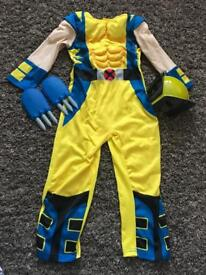 Marvel Wolverine 5-6 Years Costume