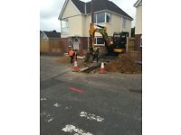 MINI DIGGER / OPERATOR & GROUND WORKER HIRE