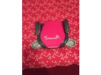 princess car booster seat in very good condition