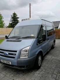 Ford transit B plate Taxi(wheelchair) psv till April 19