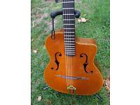 Chorus Di Mauro style gypsy jazz guitar