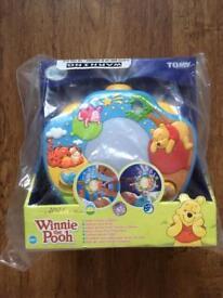 Winnie the Pooh nursery light show