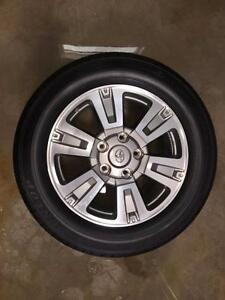 Take Offs: Set of (4) 2015 Toyota Tundra Platinum Wheels