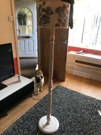Shabby chic floor lamp