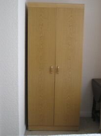 SMALL WARDROBE WITH DOUBLE DOORS