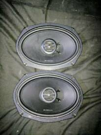 Orion car speakers 6x9