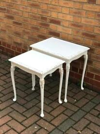 X3 shabby chic tables