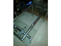 Glass extendable dining table - Hygena Savannah