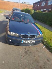 Very nice BMW 3 series. Excellent runner full MOT. Full service