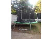10 foot trampoline bought on 8th August this year my kids do t use it £50 Ono pick up only Huyton
