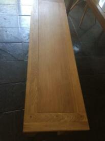 Solid Oak Kitchen /Dining Bench NEW