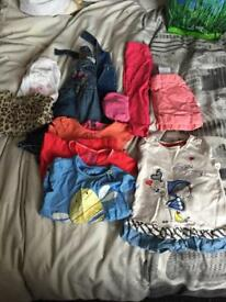 Girls bundle 9-12 month