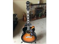 Epiphone EJ-200CE/VS With Stand and Original Box