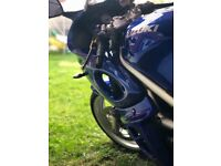 Blue 2002 Suzuki SV650S for sale, may swap or px