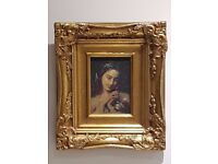 Beautiful Vintage Reproduction Rocco / Baroque Style Picture Frame