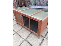 Poppy Den Guinea Pig Hutch. Used, but clean and dry and well looked after.