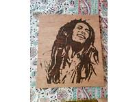Pyrography pieces