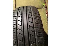 Tyres 185/55/14 x2