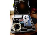 Camping and caravanning satellite system