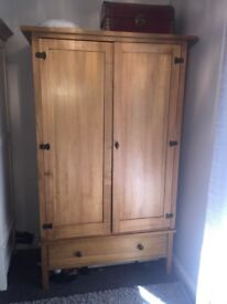 Wood Double Wardrobe