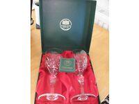 thomas webb crystal wine glass