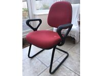 Comfortable and supportive office chair - £5