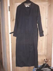 Womens Aquascutum Navy Mac/Coat