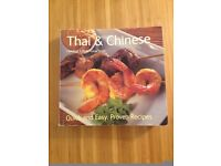 Thai and Chinese cooking recipe book
