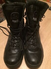 Highlander Boots – Size 7/41 - Insu-lite Cadet/Army – Great Condition – Only worn 5 times for cadets