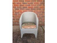 Lloyd Loom Chair & Linen Chest