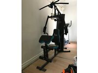 Mens health home gym as new - exceptional value