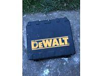 Dewalt drill in box